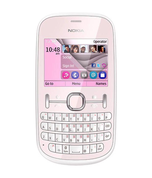 Nokia Asha 201(L.Pink)