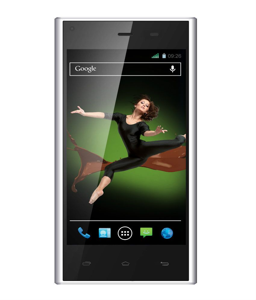 Xolo q600s ( 4GB and Below , 1 GB ) White
