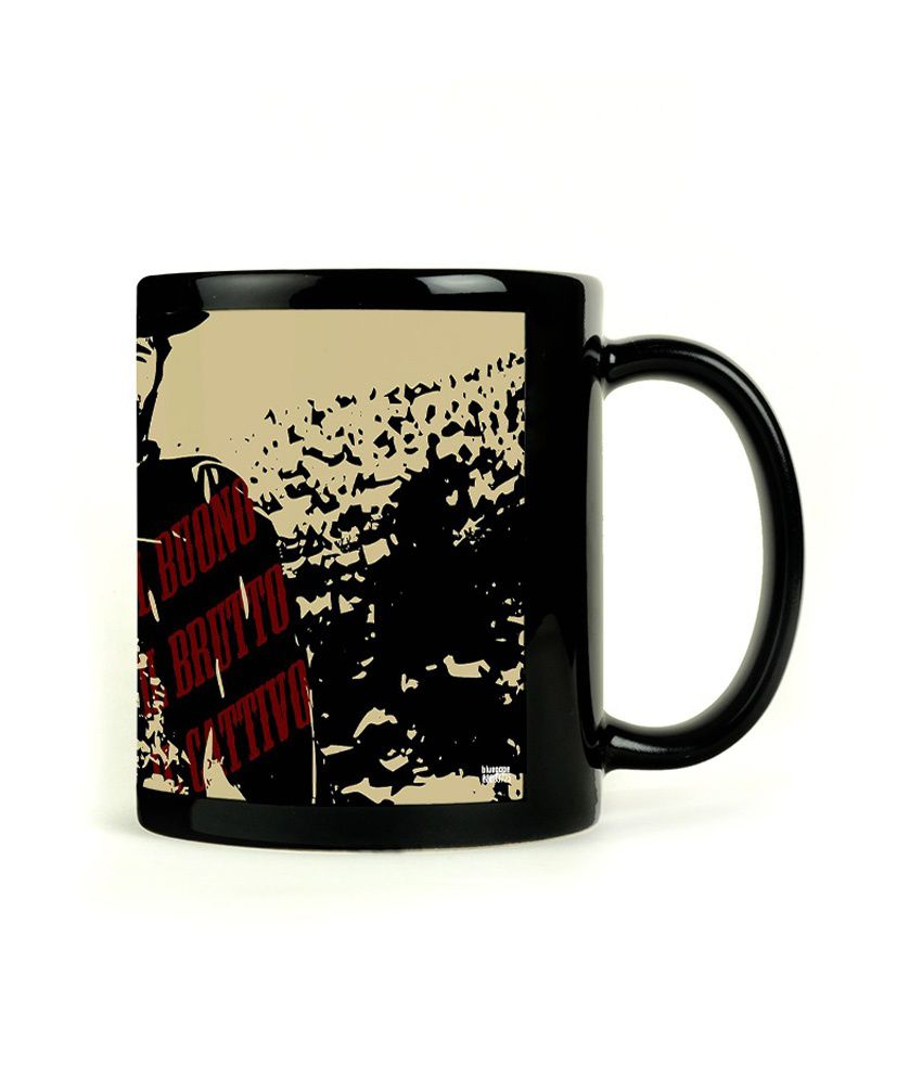 Bluegape Clint Eastwood Black Mug