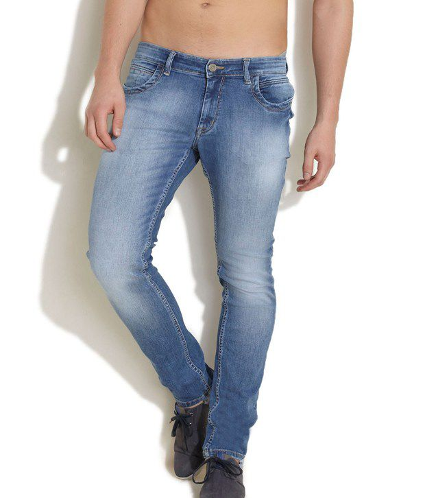 KING and I Blue Slim Jeans