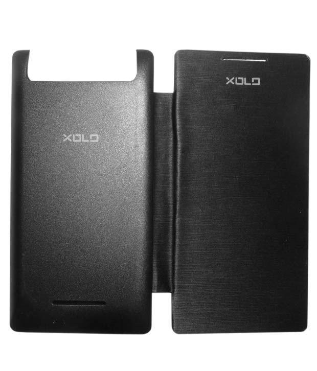 the latest e9538 d36e8 Aara Black Lava Xolo A500S Smart Flip Cover