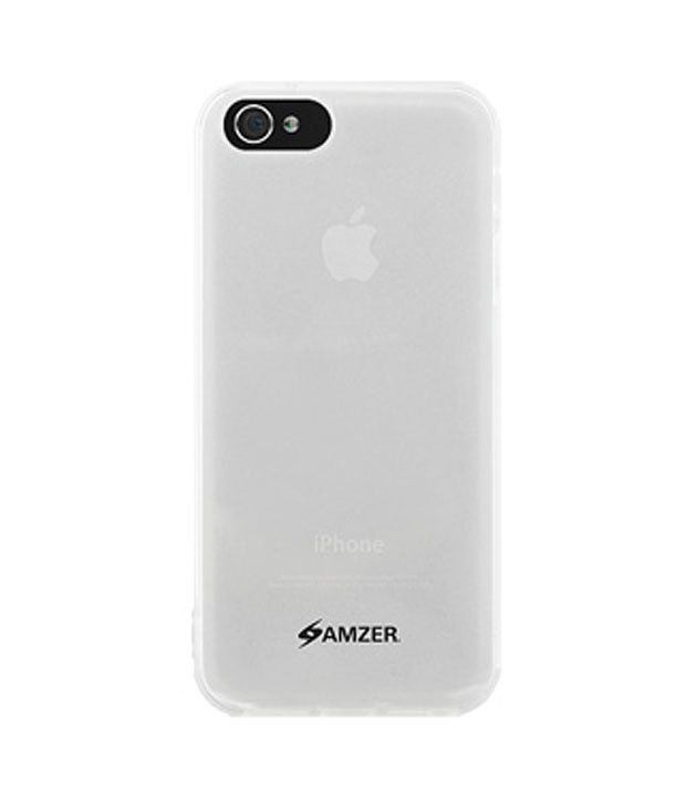 Amzer 94654 Gloss TPU Case Clear for iPhone 5