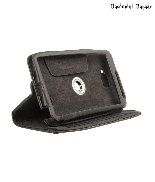 Basement Bazaar Leather Case 360 Galaxy Note Black