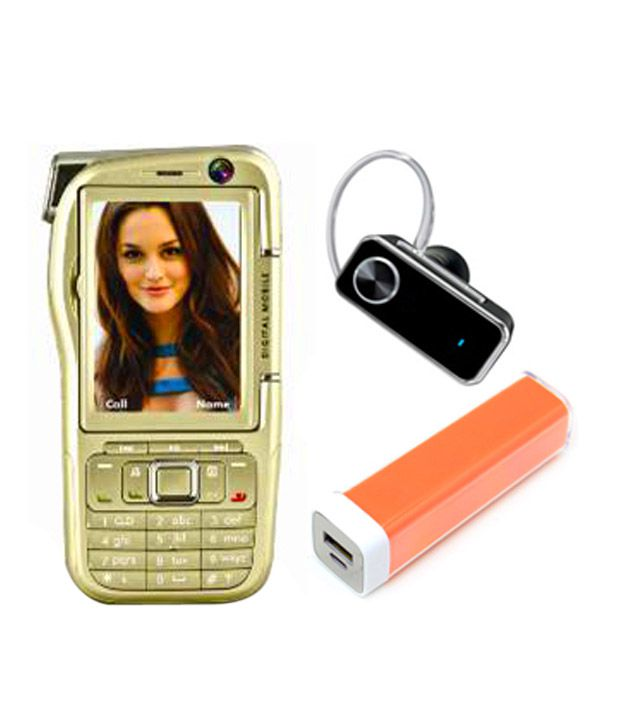 Combo of VOX 4 Sim Mobile Camcorder + Power Bank + Free Bluetooth