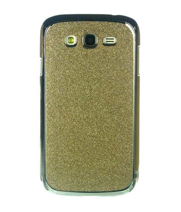 Dressmyphone Samsung Galaxy Grand Duos i9082 Sparkling Designer Back Cover - Light Golden