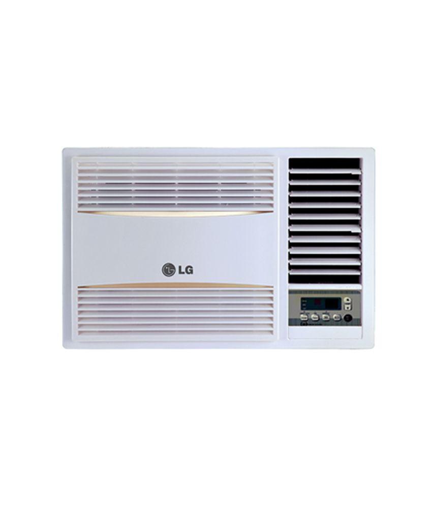 Lg 1 5 ton lwa5wr2f 2 star window air conditioner price in for 2 ton window air conditioner