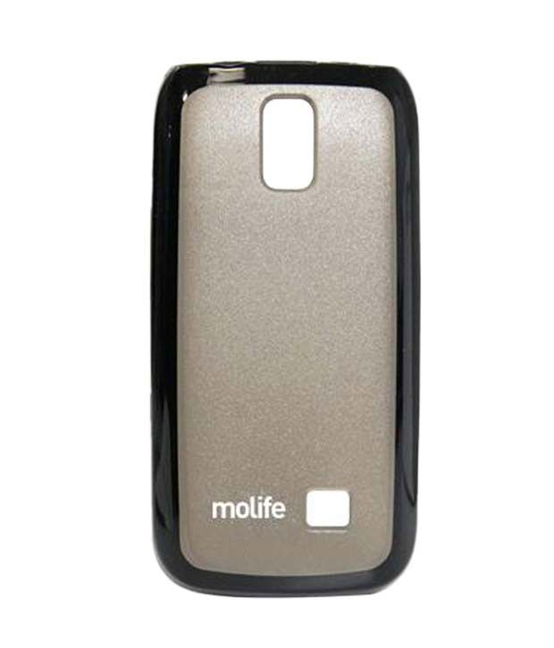 reputable site cf8fc f17e2 Molife Back cover M-MLP9171BK for Nokia Asha 308