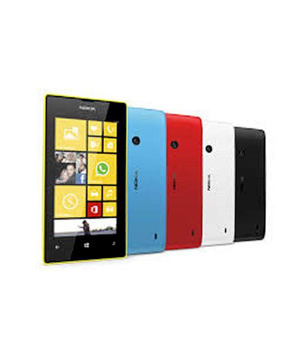 Nokia Nokia Lumia 520   8gb     Yellow Mobile Phones