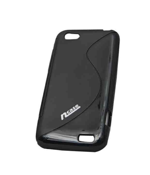 nCase Back Cover Promo Black for HTC T320E One V