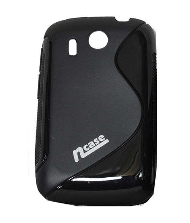 nCase Fashion Back Cover for HTC A310E Explorer Black