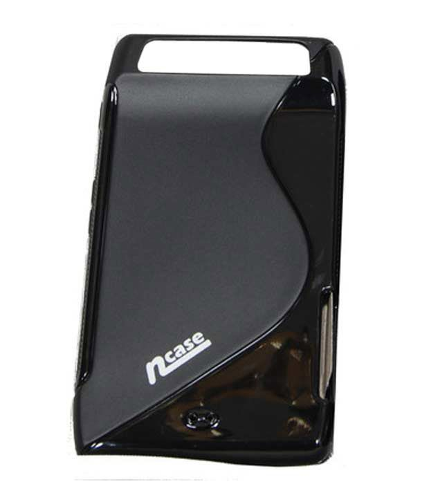 nCase Fashion Back Cover for Motorola RAZR Black