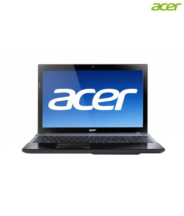 Acer Aspire V3-551G Laptop (AMD APU Quad Core A8/ 4GB/ 500GB/ Win7 HB/ 2.5GB Graph) (NX.M0FSI.004)
