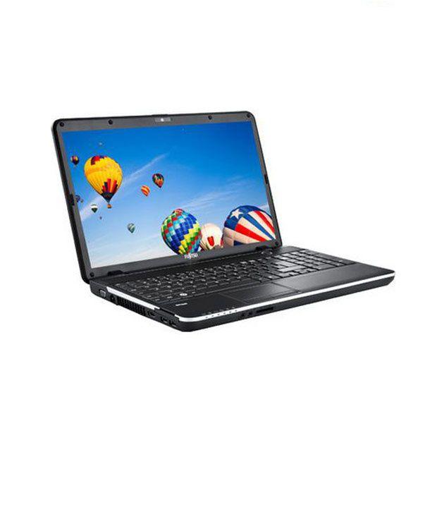 Fujitsu Lifebook AH512 (Celeron Dual Core/ 2 GB DDR3/ 320 GB SATA/ DOS/Intel HD Graphics) (Black)
