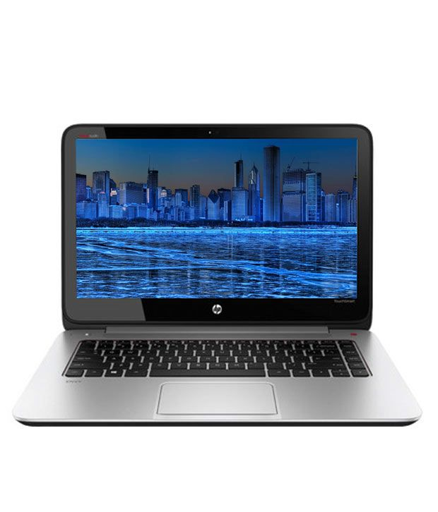 HP Envy TS 14-k011TU Laptop (4th GenCore i5-4200U- 4 GB RAM- 1TB HDD- 35.56cm (14) TSscreen- Win 8- ) (Glass Fibre With Soft TS Paint Aluminium Natural Silver)