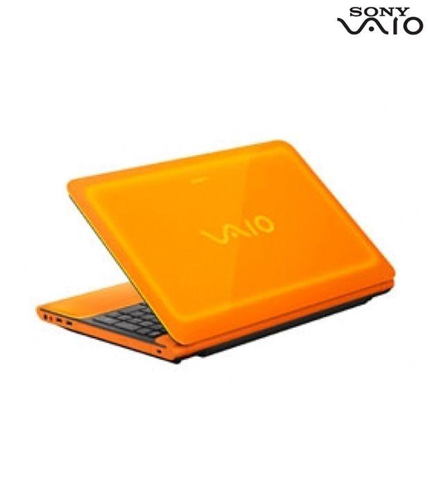 Sony Vaio C Series Laptop Vpccb35Fn/D-Orange