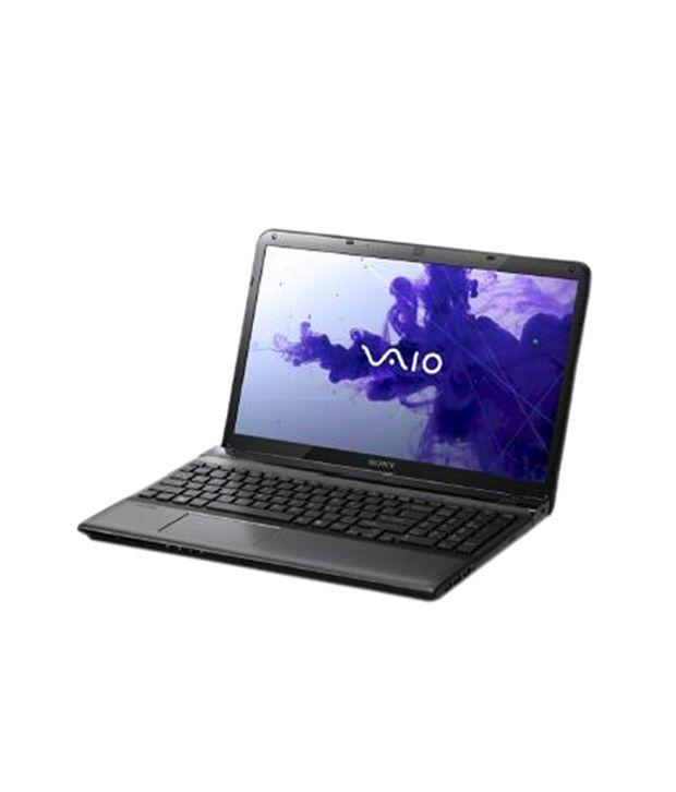 Sony Vaio E14 Series (SVE1413WPNB) Laptop (3rd Gen Core i3 3120M- 4GB RAM- 500GB HDD- 35.56cm (14)- Win 8 Pro) (Black)