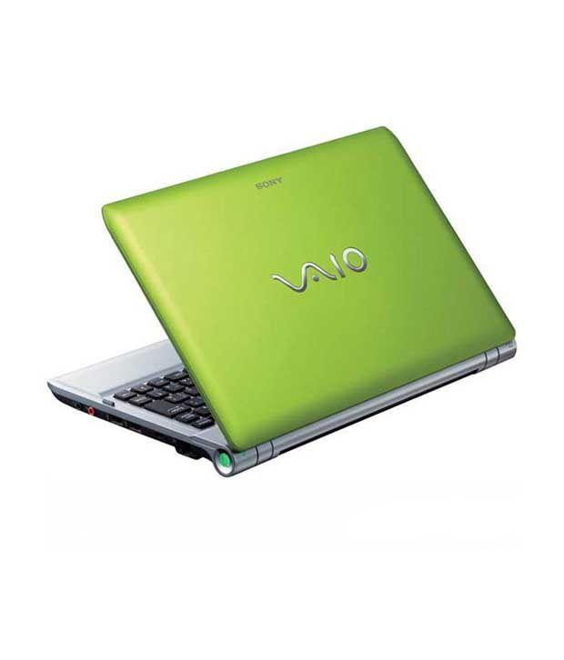 Sony Vaio Y Series Laptop VPC-YB35AN (Green)