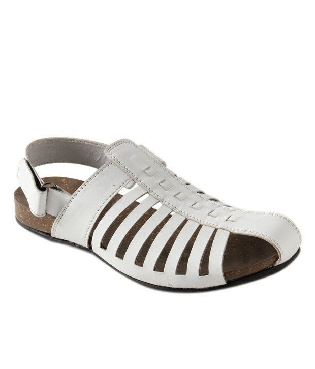 Roony Smart White Sandals
