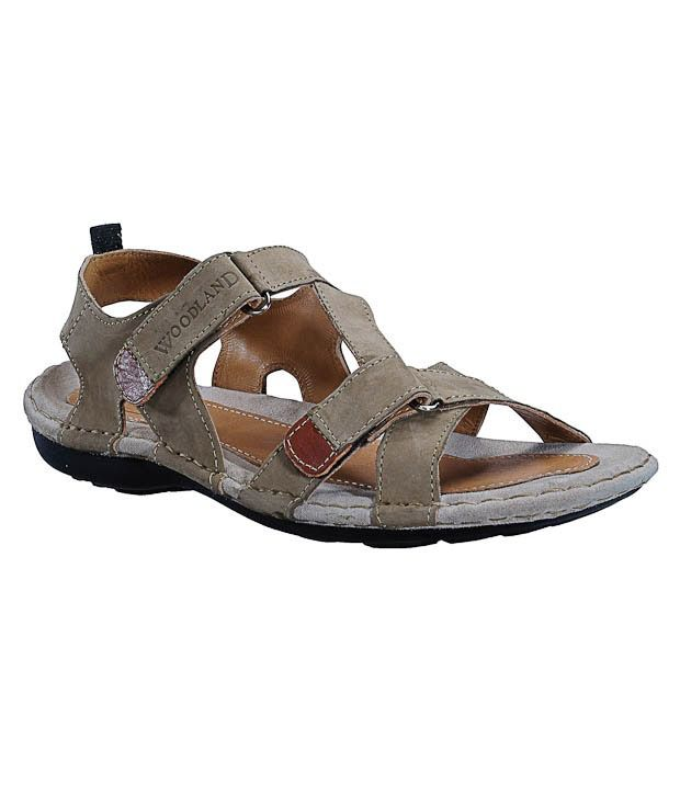 Woodland Cool Khaki Sandals