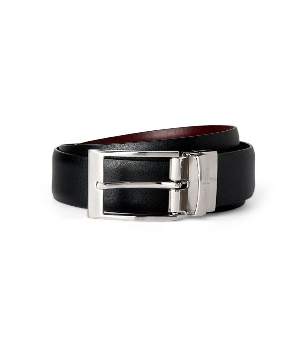 Allen Solly Black Formal  Belt  ForMen