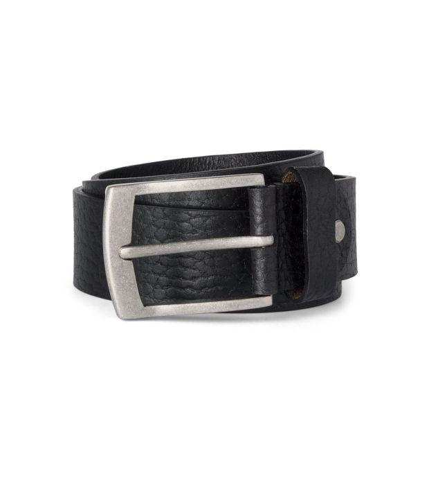 Allen Solly Black Formal  Belt  ForMen
