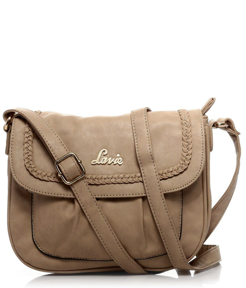 Lavie 8903606032555 Beige Sling Bags - Buy Lavie 8903606032555 ...