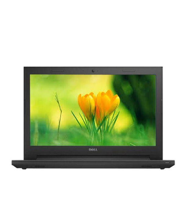Dell Inspiron 14 3442 Notebook (Intel Pentium- 4GB RAM- 500GB HDD- 35.56cm (14) Screen- Windows 8.1) (Silver)
