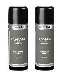 Lomani (Pour Homme, Pour Homme) Mens Deodorant Combo 200 ML Each