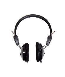 Quantum QHM888 Headset Headphones with Mic Compatible with iPhone, MP3, Mobile, Tablets
