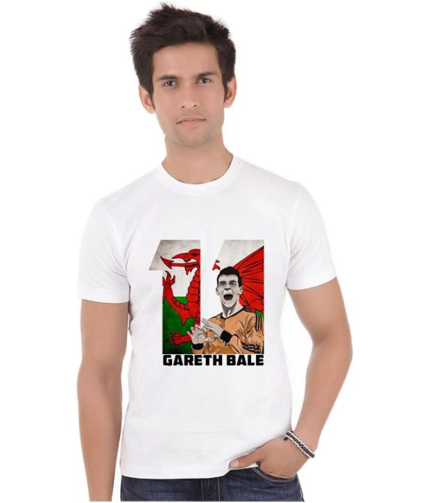 Bluegape Gareth Bale Welsh Real Madrid Fifa World Cup 2014 T-Shirt