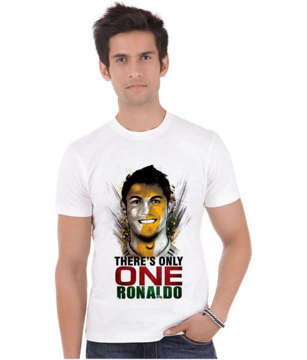 Bluegape Ronaldo Face Portugal Real Madrid Fifa World Cup 2014 T-Shirt