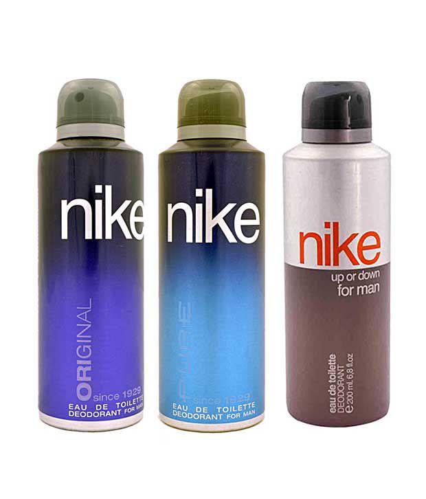 Nike Original, Pure, Up Down  Deodorant for Men-200ml Each