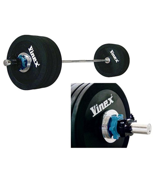 f5c367c104f Vinex Weight Lifting- Olympic Barbell Set (182)  Buy Online at Best Price  on Snapdeal