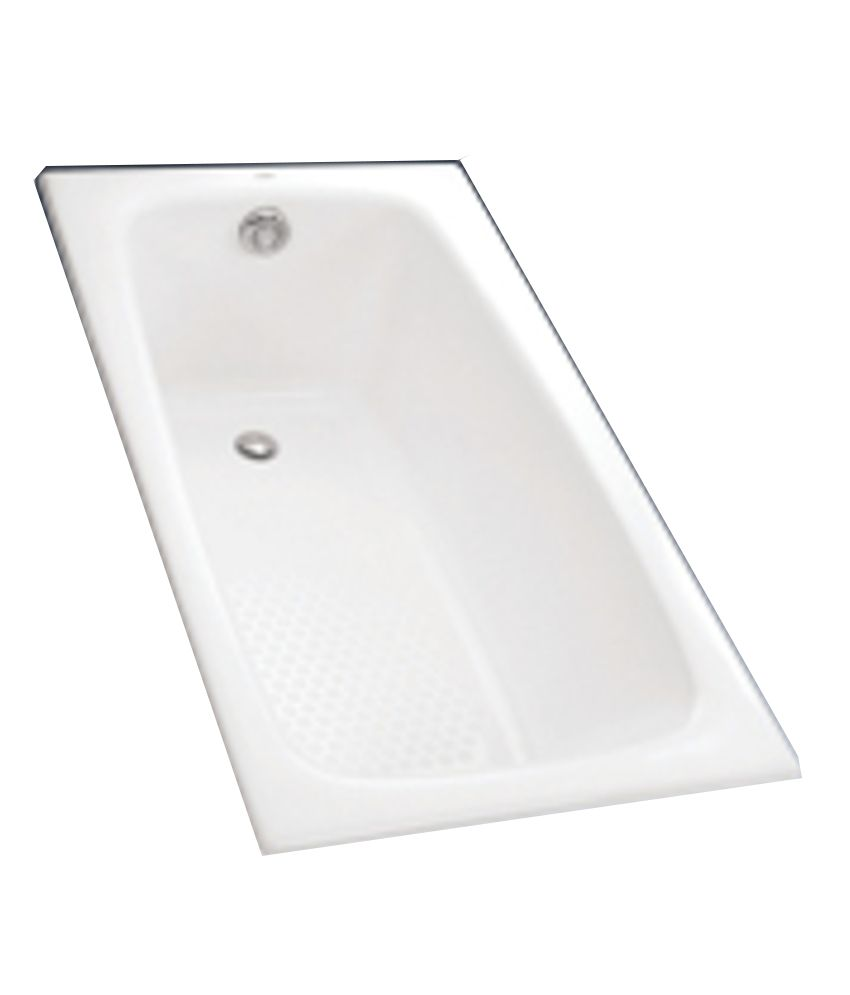 Buy Toto Enameled Cast Iron Bathtub (FBY1400PE) Online at Low Price ...