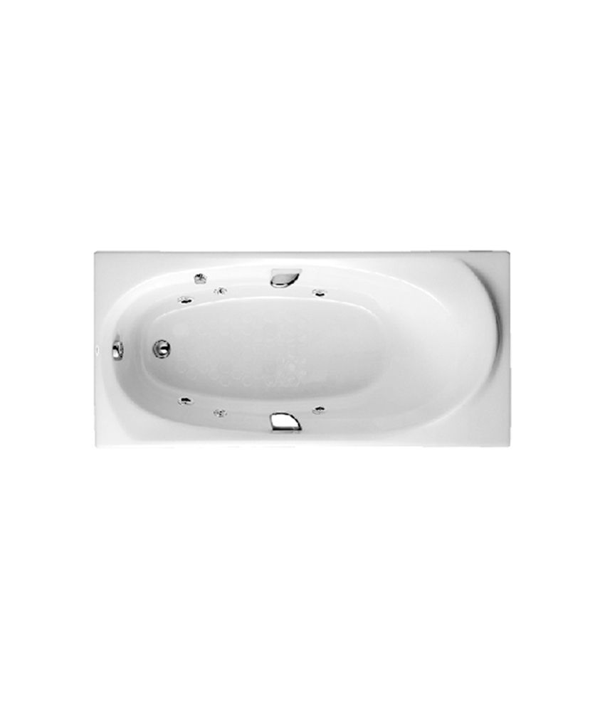 Buy Toto Pearl Acrylic Bathtub With Whirpool Massage And Hand Grip ...