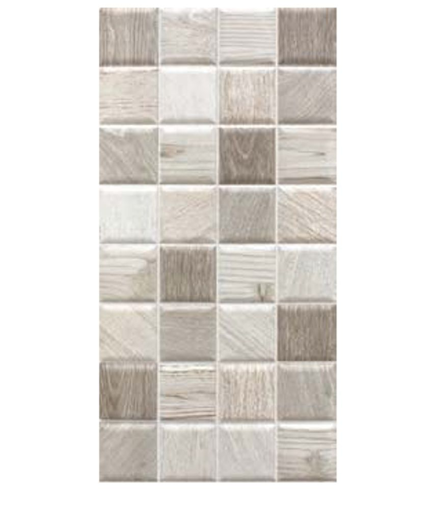 Cimenti Grey Matt Ceramic Wall Tile Pack Of 10 L 400mm: Ceramic Wall Tiles