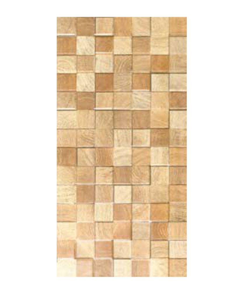 Kitchen Wall Tiles India Price: Buy Kajaria Ceramic Wall Tiles (Jodhpur Gold) Online At