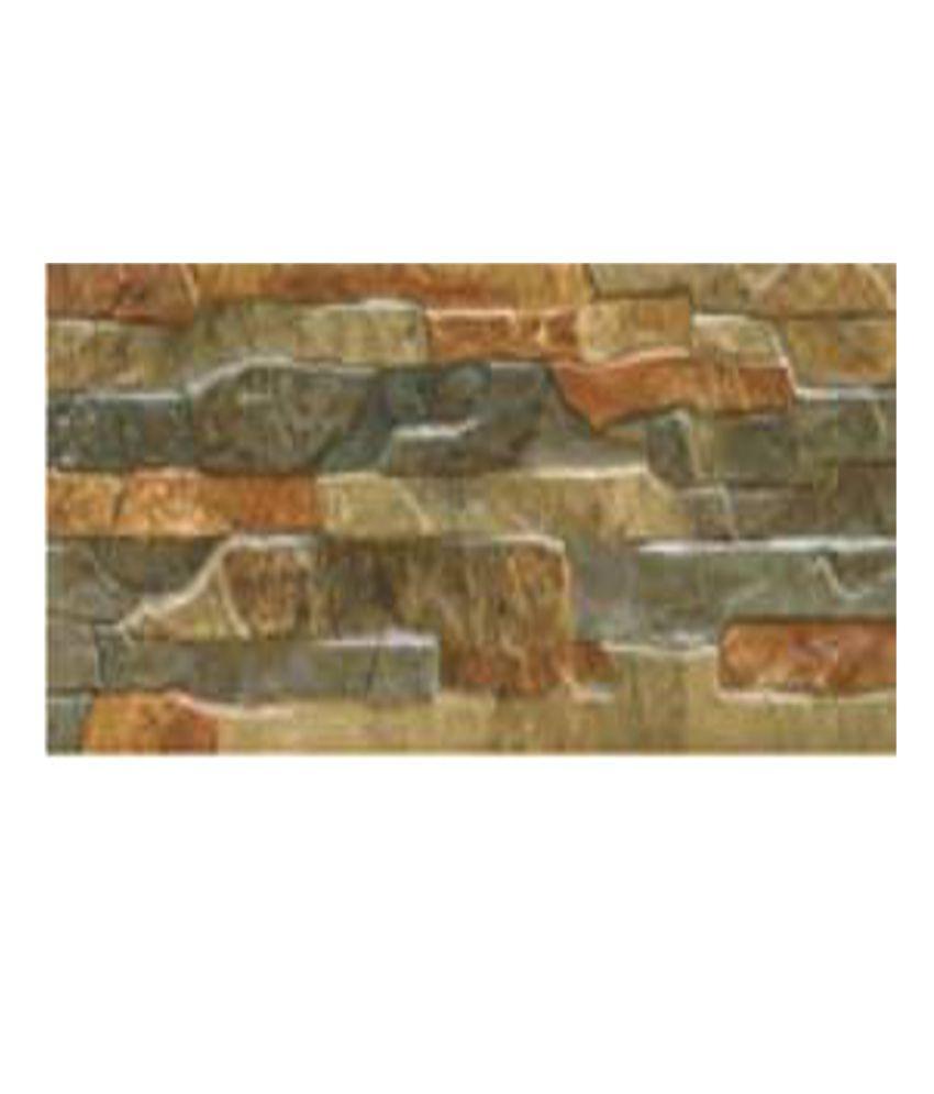 Buy Kajaria Ceramic Wall Tiles (Wall Rock Lava) Online at ...