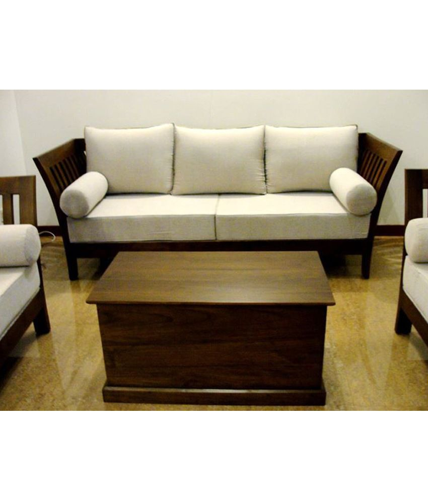 Three Seater Wooden Sofa Online India Refil Sofa