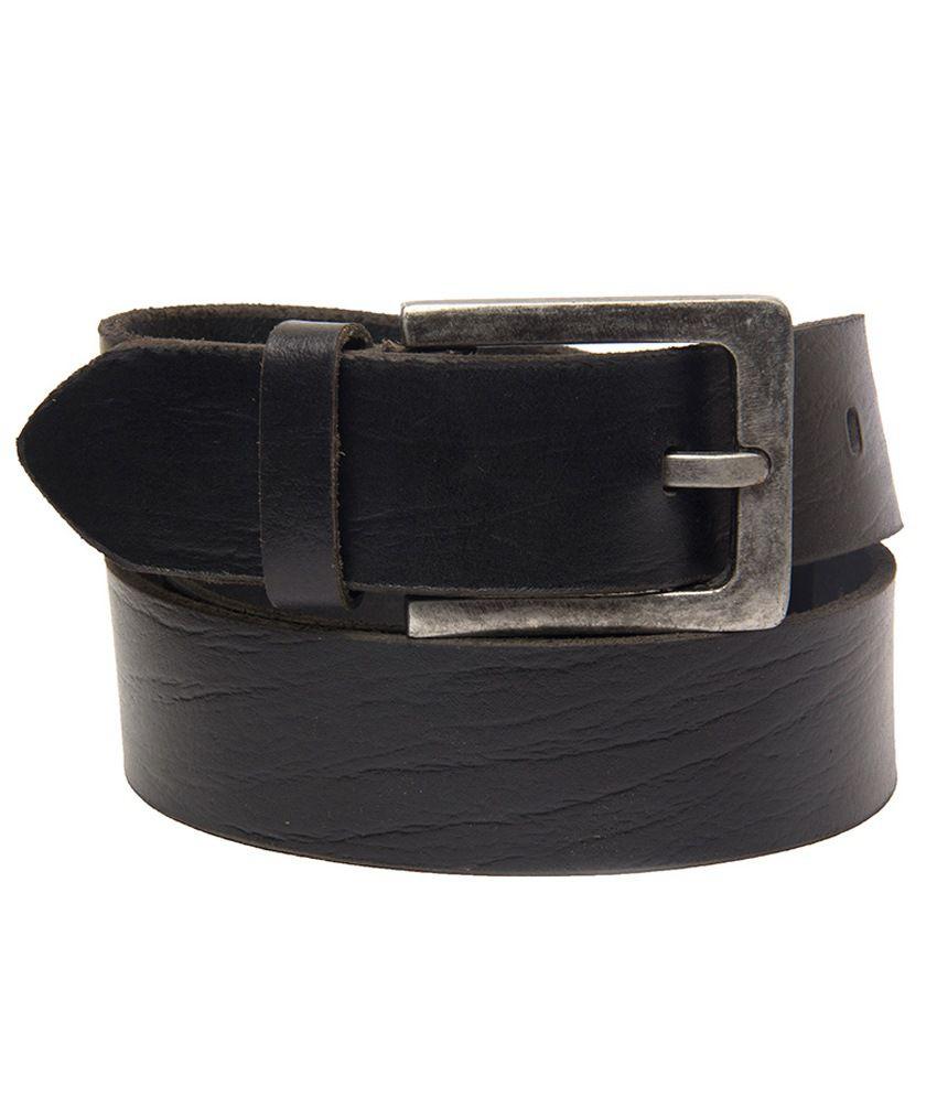 BuckleUp Casual Belt with Antique Buckle