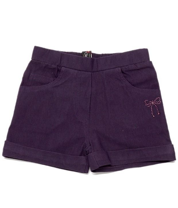 Ever Wear Imported Lam Lam Lycra Wine Color Shorts