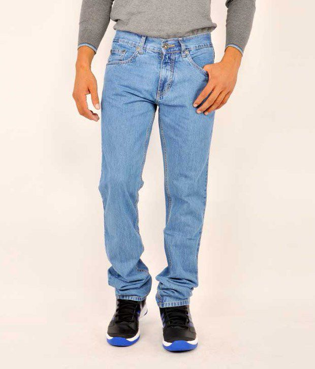 Monte Carlo Blue Regular  Fit Jeans