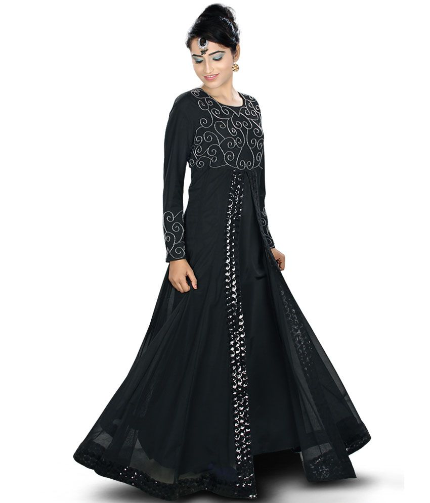 3b749f96e Amirah Georgeous Abaya Perfect Party Wear Dress Price in India - Buy Amirah  Georgeous Abaya Perfect Party Wear Dress Online at Snapdeal