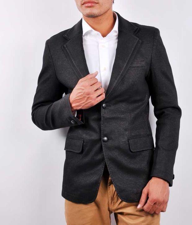 4b4990d5f2c Black Formal Blazer - Buy Black Formal Blazer Online at Best Prices in India  on Snapdeal