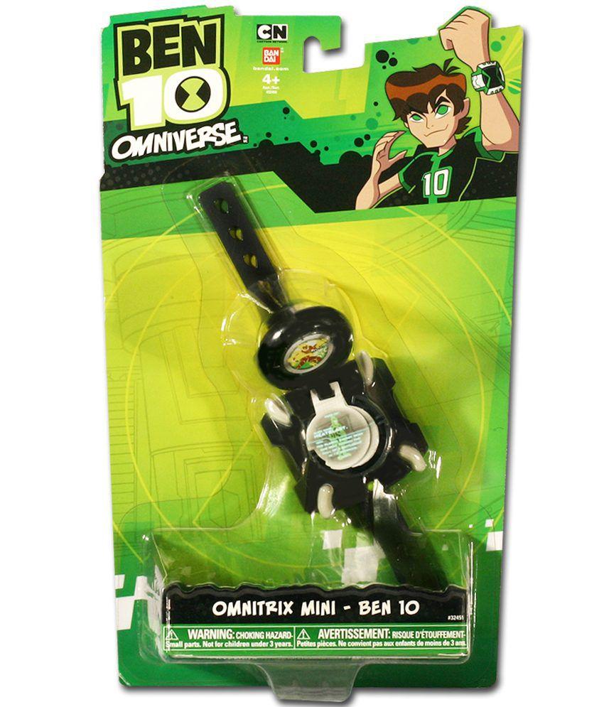 Cartoon Network Ben 10 Omniverse Omnitrix Mini Action ...