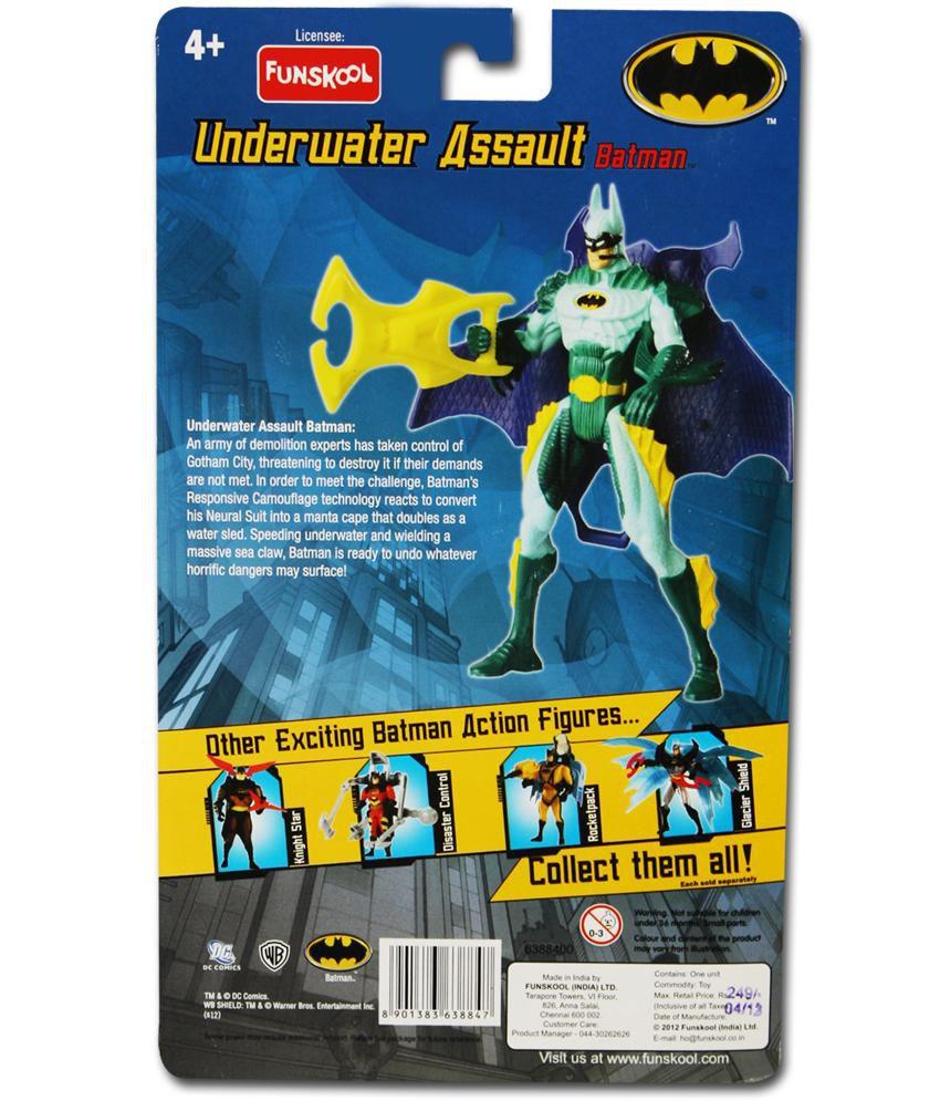 Funskool Under Water Assault Batman