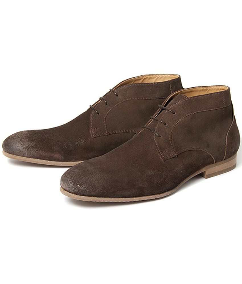 H by Hudson Brown Formal Shoes