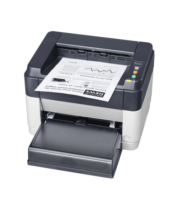 Kyocera - FS-1040 Single Function Laser Printer (White & Black)