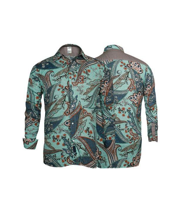 Probase Aqua Printed Shirt
