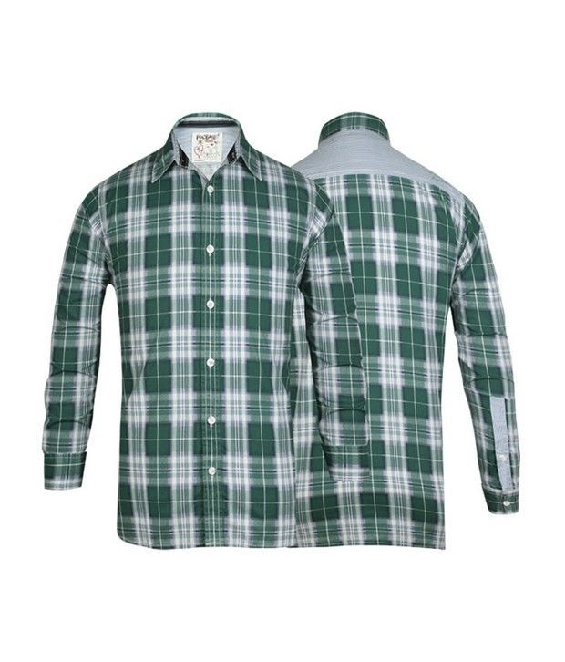 Probase Green Checkered Shirt